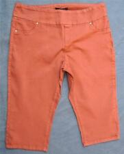 Crossroads XRD Henna Denim Size 20 NEW rrp$39.95 Cropped PULL ON JEGGING Stretch