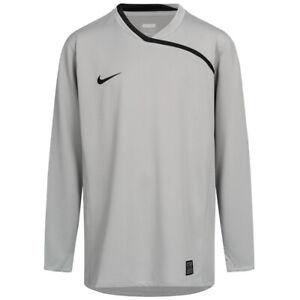 Nike Total 90 Kinder Team Fußball Torwart Trikot 336585-070 Gr. 158-170 grau neu