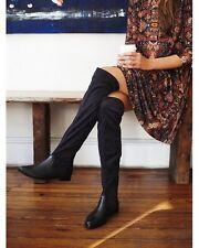 Free People Women Black Vegan Ridge Slouchy Boot Size 7 MSRP: $148