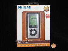 Phillips Video Shell iPod NANO 5th Gen 8GB 16 GB Clear Case with Stand - NEW