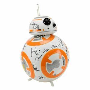 Harrison Ford Hamill Driver Star Wars The Force Awakens Cast Autografiada BB-8