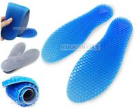 Honeycomb Silicone Insoles Inserts Shoe Pads Arc Support Shock Absorb Gel Unisex