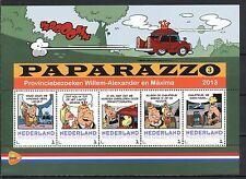 PERS. POSTZEGELS: PAPARAZZO - PROVINCIE BEZOEK WILLEM-ALEXANDER/MAXIMA    PP203B