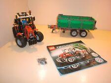 lego technic Trecker mit Anhänger 8063  mit Eigenbau
