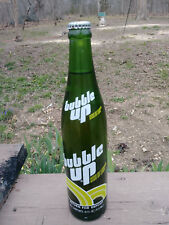 VERY RARE 1978 VERSION BUBBLE UP 16 oz ACL SODA BOTTLE FULL  MINT