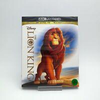 The Lion King - 4K UHD & Blu-ray (2019) w/ Slipcover