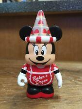 "Disney Vinylmation 3"" Park Set 1 Poster February Minnie Mouse Baker's Dozen"