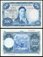 Facsimil Billete 500 pesetas 1954 - Reproduction
