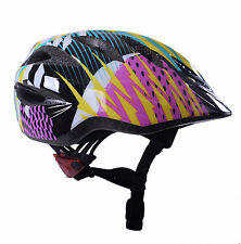 GIRO RASCAL SHARDS CHILDS KIDS CYCLE BIKE HELMET BUILT IN LED LIGHTS 50 - 54cm