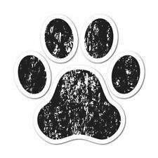Paw Sticker Decal Love Paw Woof Animals Pet Dogs Cats