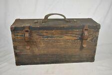 Ww1 Russian Maxim Tool Box