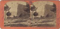 Dente Del Marais Murois Francia Vintage Stereo Albumina Ca 1870