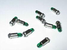 Micro Light 2, 8x4mm - Green - 10 Piece New