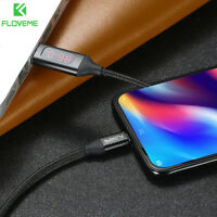 FLOVEME Nylon Braided Digital USB-C Type C Fast Charge Data Sync Cable Lead Wire