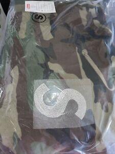 Swarovski® S Logo Hooded Sweatshirt Size Small
