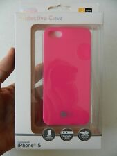 CASE LOGIC, DEEP SCREEN PROTECTIVE FRAME, PINK CELL PHONE CASE FOR iPHONE 5, NEW