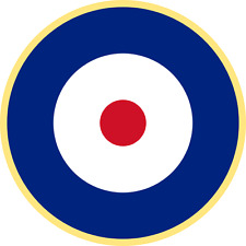 British RAF Plane Roundel ( Type A2 ) Exterior Vinyl Model Plane Aircraft Decals