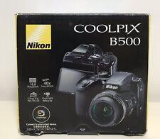 NIKON COOLPIX B500 16MP CMOS Sensor Bridge Camera - Black