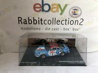 "DIE CAST "" ALPINE RENAULT A110 1800 RALLY SANREMO 1973 "" SCALA 1/43"