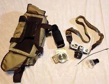 Pentax K1000 35MM Camera W/SMC Pentax-A 1:2 50mm Lens & 300mm Lens/Filter/Bag