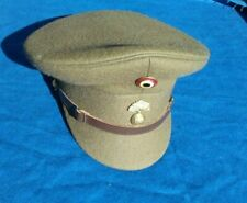 Belgium Belgian Military Army Officer Cap Size 58 - 7 1/4 Mfn Date 1985
