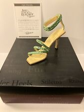 """Just the Right Shoe """"High Intensity"""" Raine 2002 Miniature Shoe - With Box & Coa"""