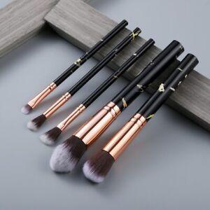 5Pcs Makeup Brushes Tool Set Cosmetic Powder Eye Shadow Blush Blending Beauty