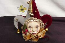 VTG 1984 LASTING ENDEARMENTS JESTER ORNAMENT HANDCRAFTED & PAINTED COLLECTIBLE