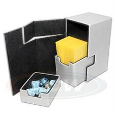 1 BCW WHITE LX Deck Locker MTG CCG Pokemon Premium Storage Box