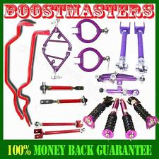 Fits Nissan 89-94 240SX S13 Camber & Suspension Kits & Swaybar & Tension Rod