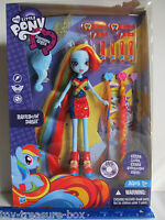 My Little Pony Equestria Girls Rainbow Dash Doll w/ lots of Accessories - Age 5+