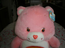 "NWT RETIRED  JUMBO CHEER   BEAR CARE BEAR PLUSH 26"" TALL"
