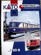Catalogo KATO Hobbytrain scala HO N 2002-2003 - DEU ENG -  [TR.27]