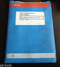Reparatiebrochure VW Polo 6N Electric. From 1995