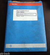 Reparatiebrochure VW Polo 6N Elektrische installatie ab 1995