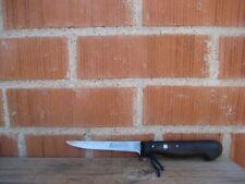 """Vintage 4 1/2"""" Blade *** GUSTAV EMIL ERN *** Large Carbon Paring Knife GERMANY"""