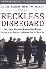 "BRAND NEW ""Reckless Disregard"" How Democrats Undercut Our Military*HC/DJ"