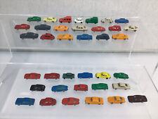 More details for large quantity of plastic n gauge cars vans road vehicles for model railway #630