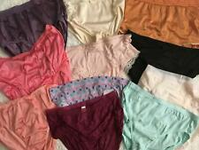 New listing 11 Vtg Panties lot Set Size 7 Large L Nylon Lace Spandex Brief More