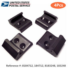 4Pcs Black Plastic Jaw Clamps for Tire Changers 8184712, 184712, 8183248, 183248