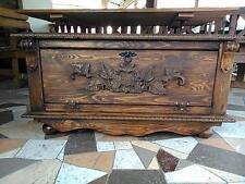 wooden shoe box cupboard cabinet rack hallway pine storage seating bench iv2
