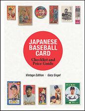 Japan Vintage Baseball Card Guide & Checklist by Gary Engel Japanese Menko Cards
