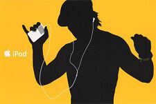 iPod Werbekarte in ORANGE  NEU  Merchandising/Werbung  Apple Hochglanz