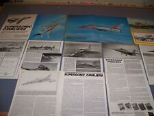 VINTAGE...F-107 & F-108 AIRCRAFT HISTORY..HISTORY/DETAILS/PHOTOS...RARE! (669K)