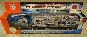 Oakland Raiders Truck Hauler Jerry Rice Superstars 1:80 Scale New In Box NFL