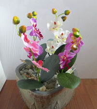 4 Artificial Butterfly orchid Flower Home Wedding Party Decor
