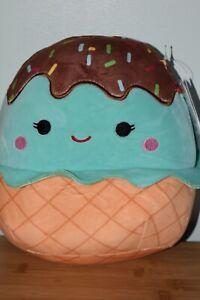 "BNWT SQUISHMALLOWS Kellytoy - 8"" Maya The Mint Ice Cream! New!"