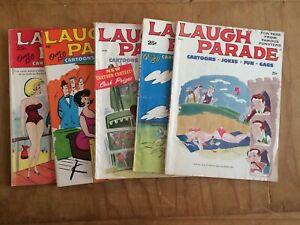 LAUGH PARADE Cartoons Jokes Fun Gags 1962-67 HUMORAMA Martin Goodman