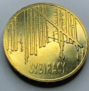 Poland 2008 SYBIRACY 2 Zlote/ Nordic-gold coin UNC !!NO RESERVE!! !!(R1A5)