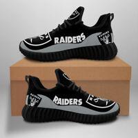 Las Vegas Raiders Sneaker Black Running Shoes For Men Women